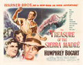 "Movie Posters:Drama, The Treasure of the Sierra Madre (Warner Brothers, 1948). HalfSheet (22"" X 28"") Style A.. ..."