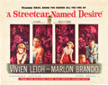"Movie Posters:Drama, A Streetcar Named Desire (Warner Brothers, 1951). Half Sheet (22"" X28"").. ..."