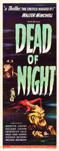 "Movie Posters:Horror, Dead of Night (Universal, 1946). Insert (14"" X 36"").. ..."