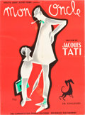 "Movie Posters:Comedy, Mon Oncle (Gaumont, 1958). French Affiche (23.5"" X 31.5"").. ..."