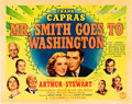 "Movie Posters:Drama, Mr. Smith Goes to Washington (Columbia, 1939). Autographed HalfSheet (22"" X 28"").. ..."