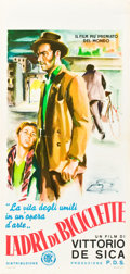"Movie Posters:Foreign, The Bicycle Thief (ENIC, 1948). Italian Locandina (13"" X 27"").. ..."