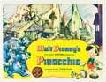 "Movie Posters:Animated, Pinocchio (RKO, 1940). Half Sheet (22"" X 28"") Style A.. ..."