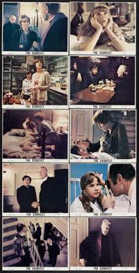 """The Exorcist (Warner Brothers, 1974). Color Still Set of 21 (8"""" X 10""""). Horror. ... (Total: 21 Items)"""