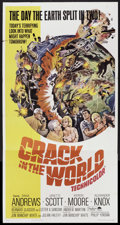 "Movie Posters:Science Fiction, Crack in the World (Paramount, 1965). Three Sheet (41"" X 81"").Science Fiction.. ..."