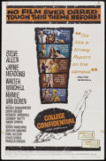 """Movie Posters:Drama, College Confidential (Universal, 1960). One Sheet (27"""" X 41"""").Drama.. ..."""