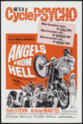 """Movie Posters:Action, Angels from Hell (American International, 1968). One Sheet (27"""" X 41""""). Action.. ..."""