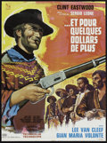 "Movie Posters:Western, For a Few Dollars More (United Artists, R-1970s). French Petite(22.75"" X 30.5""). Western.. ..."