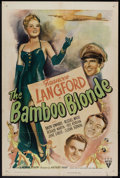 "Movie Posters:War, The Bamboo Blonde (RKO, 1946). One Sheet (27"" X 41""). War.. ..."