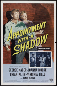 "Appointment with a Shadow (Universal International, 1958). One Sheet (27"" X 41""). Crime"