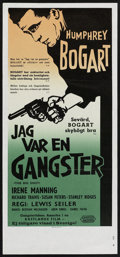"""Movie Posters:Crime, The Big Shot Lot (United Artists, 1962). Swedish Inserts (5) (12.5"""" X 27.5""""). Crime.. ... (Total: 5 Items)"""