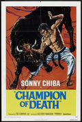 "Movie Posters:Action, Champion of Death (United Artists, 1976). One Sheet (27"" X 41"").Action.. ..."