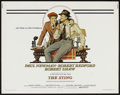 """Movie Posters:Crime, The Sting (Universal, 1974). Half Sheet (22"""" X 28""""). Crime.. ..."""