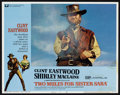 """Movie Posters:Action, Clint Eastwood Lot (Various, 1970s). Lobby Cards (5) (11"""" X 14"""").Western.. ... (Total: 5 Items)"""