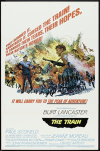 "The Train (United Artists, 1965). One Sheet (27"" X 41"") Style B. War"