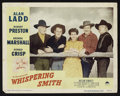 "Movie Posters:Western, Whispering Smith (Paramount, 1949). Lobby Cards (4) (11"" X 14""). Western.. ... (Total: 4 Items)"