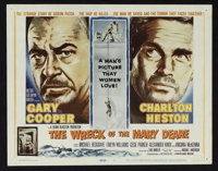 """The Wreck of the Mary Deare (MGM, 1959). Title Lobby Card and Lobby Cards (7) (11"""" X 14""""). Thriller. ... (Tota..."""