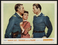 """Thunder Over the Plains (Warner Brothers, 1953). Lobby Cards (7) (11"""" X 14""""). Western. ... (Total: 7 Items)"""