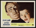 """Movie Posters:Drama, Captain Carey, U.S.A. (Paramount, 1950). Lobby Card Set of 8 andLobby Card (11"""" X 14""""). Drama. Retitled After Midnight ...(Total: 9 Items)"""
