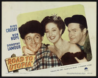 """Road to Utopia (Paramount, 1945). Lobby Cards (3) (11"""" X 14""""). Comedy. ... (Total: 3 Items)"""