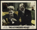 "Movie Posters:Drama, The Astonished Heart (Eagle-Lion, 1950). British Lobby Cards (3)(11"" X 14""). Drama.. ... (Total: 3 Items)"