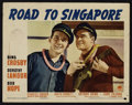 """Movie Posters:Comedy, Road to Singapore (Paramount, 1940). Lobby Cards (4) (11"""" X 14"""").Comedy.. ... (Total: 4 Items)"""