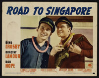 """Road to Singapore (Paramount, 1940). Lobby Cards (4) (11"""" X 14""""). Comedy. ... (Total: 4 Items)"""