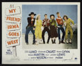 """Movie Posters:Comedy, My Friend Irma Goes West (Paramount, 1950). Lobby Cards (7) (11"""" X14""""). Comedy.. ... (Total: 7 Items)"""