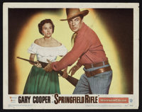 """Springfield Rifle (Warner Brothers, 1952). Lobby Cards (8) (11"""" X 14""""). Western. ... (Total: 8 Items)"""