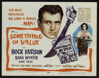 """Something of Value (MGM, 1957). Lobby Card Set of 8 (11"""" X 14""""). Drama. ... (Total: 8 Items)"""