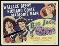 "Movie Posters:Western, Big Jack (MGM, 1949). Lobby Card Set of 8 (11"" X 14""). Western..... (Total: 8 Items)"
