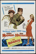 "Movie Posters:Comedy, The Rookie (20th Century Fox, 1959). One Sheet (27"" X 41""). Comedy.. ..."