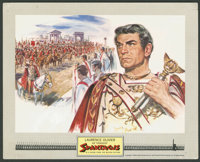 "Spartacus Lot (Universal International, 1960). Roadshow Color Stills (3) (8"" X 10"") and Still (8"" X 10&qu..."