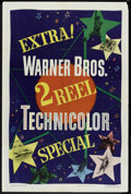 """Movie Posters:Short Subject, 2 Reel Technicolor Stock (Warner Brothers, 1949). One Sheet (27"""" X41""""). Short Subject.. ..."""