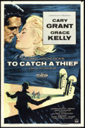 "Movie Posters:Hitchcock, To Catch a Thief (Paramount, 1955). One Sheet (27"" X 41""). Hitchcock.. ..."