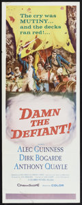 "Movie Posters:Adventure, Damn the Defiant! (Columbia, 1962). Insert (14"" X 36""). Adventure....."