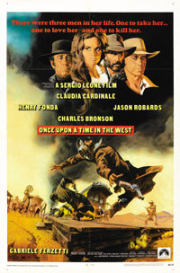 """Once Upon A Time in the West (Paramount, 1969). One Sheet (27"""" X 41""""). Western"""