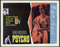 "Movie Posters:Hitchcock, Psycho (Paramount, 1960). Half Sheet (22"" X 28"") Style B.Hitchcock.. ..."