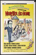 "Movie Posters:Comedy, Munster, Go Home (Universal, 1966). One Sheet (27"" X 41""). Comedy....."