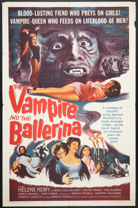 """The Vampire and the Ballerina (United Artists, 1962). One Sheet (27"""" X 41""""). Horror"""