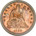 Proof Seated Quarters, 1859 25C PR66 NGC....