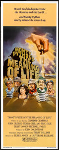 "Movie Posters:Comedy, Monty Python's The Meaning of Life (Universal, 1983). Insert (14"" X 36""). Comedy.. ..."