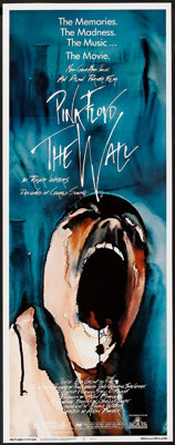 """Pink Floyd: The Wall (MGM, 1982). Insert (14"""" X 36""""). Rock and Roll"""