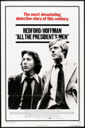"Movie Posters:Drama, All the President's Men (Warner Brothers, 1976). One Sheet (27"" X41"") Flat Folded. Drama.. ..."