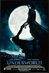 "Underworld (Sony Pictures Classics, 2003). One Sheet (27"" X 41"") SS Advance. Horror"