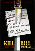 """Movie Posters:Action, Kill Bill: Vol. 2 (Miramax, 2004). One Sheet (27"""" X 41"""") SS Advance. List Style. Action.. ..."""