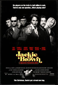 """Jackie Brown (Miramax, 1997). One Sheet (27"""" X 41"""") DS Advance. Crime"""