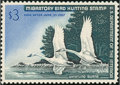 Stamps, 1966, $3 Whistling Swans (RW33),... (Total: 1 Slab)