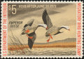 Stamps, 1972, $5 Emperor Geese (RW39),... (Total: 1 Slab)