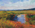 Works on Paper, MICHAEL ETIE (American, b. 1948). Scenic Overlook - Lost Maple Trail. Pastel on panel. 10 x 13 inches (25.4 x 33.0 cm). ...